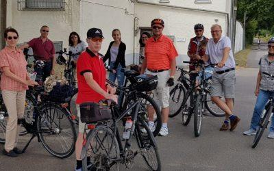 09.08.2021: Haus & Grund Rodgau: Rückblick Radtour